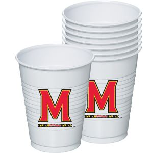 Maryland Terrapins Plastic Cups 8ct