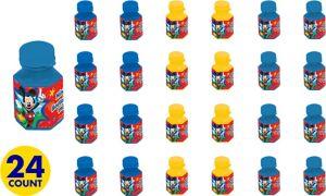 Mickey Mouse Mini Bubbles 24ct