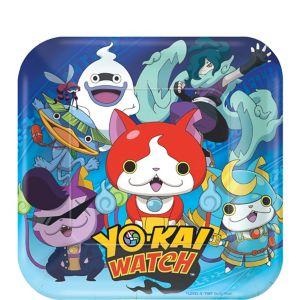 Yo-Kai Watch Dessert Plates 8ct