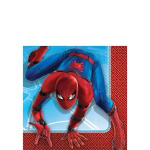Spider-Man Homecoming Beverage Napkins 16ct