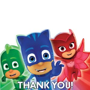 PJ Masks Thank You Notes 8ct
