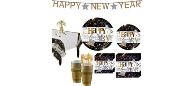 Elegant Celebration Deluxe Tableware Kit for 60 guests