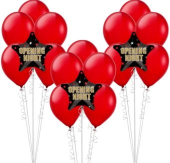 Clapboard Hollywood Balloon Kit