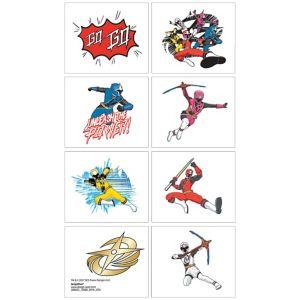 Power Rangers Ninja Steel Tattoos 1 Sheet