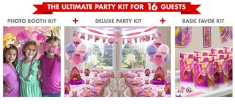Rapunzul Ultimate Party Kit for 16 Guests