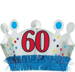 60th Birthday Crown