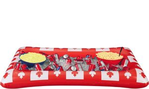 Inflatable Canadian Maple Leaf Buffet Cooler