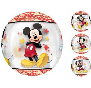 Mickey Mouse Balloon - See Thru Orbz