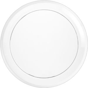 CLEAR Plastic Round Platter