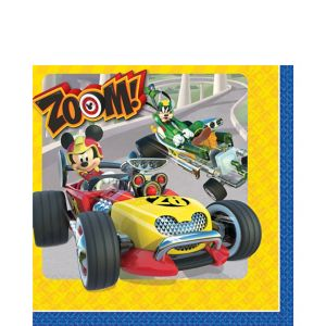 Mickey Mouse Roadster Lunch Napkins 16ct