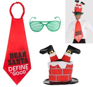 Adult Funny Christmas Accessory Kit