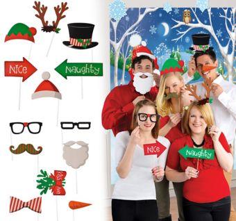 Christmas Basic Photo Booth Kit