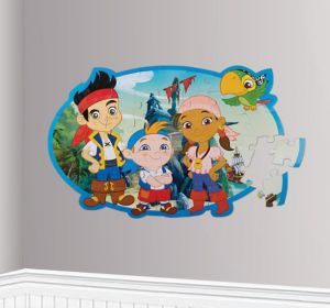 Jake and the Never Land Pirates Wall Puzzle 46pc