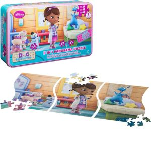 Doc McStuffins Panorama Puzzle 135pc