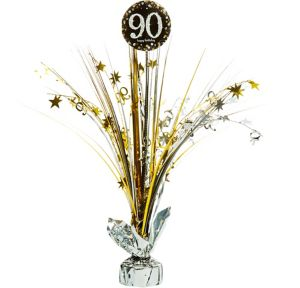 90th Birthday Spray Centerpiece - Sparkling Celebration