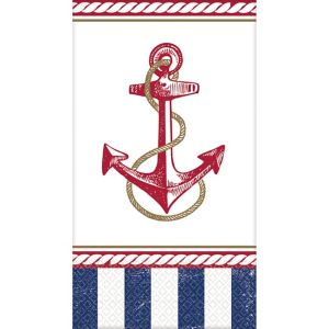 Striped Nautical Guest Towels 16ct