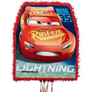 Pull String Lightning McQueen Pinata - Cars 3