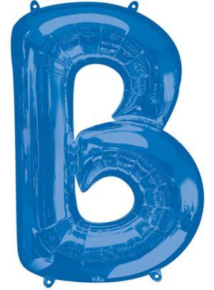 Giant Blue Letter B Balloon