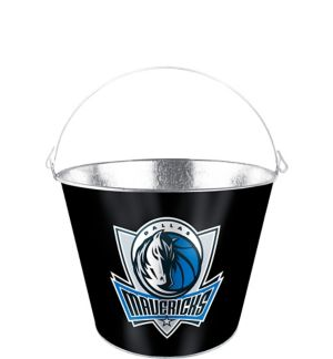 Dallas Mavericks Galvanized Bucket