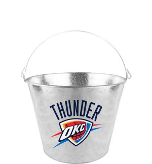 Oklahoma City Thunder Galvanized Bucket
