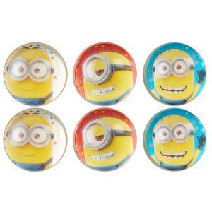 Minions Bounce Balls 6ct