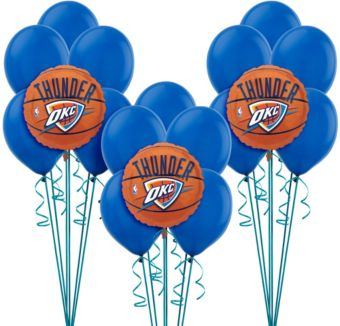 Oklahoma City Thunder Balloon Kit