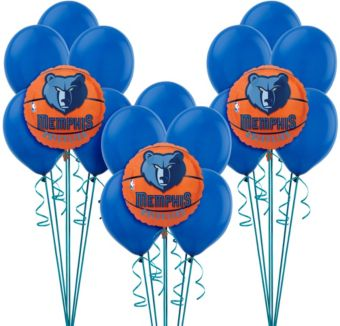 Memphis Grizzlies Balloon Kit