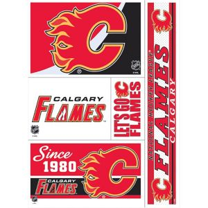 Calgary Flames Decals 5ct
