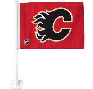 Calgary Flames Car Flag
