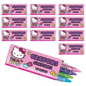 Hello Kitty Crayon Boxes 48ct