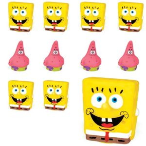 Patrick & SpongeBob Finger Puppets 24ct