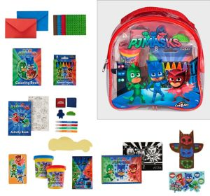 PJ Masks Activity Backpack Art Set 130pc