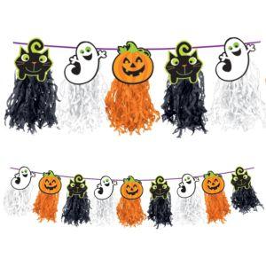 Halloween Tassel Garland