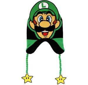 Child Luigi Peruvian Hat