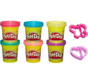 Play-Doh Sparkling Playset 8pc