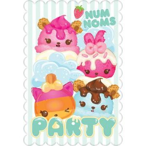 Num Noms Invitations 8ct Party City