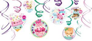 Num Noms Swirl Decorations 12ct