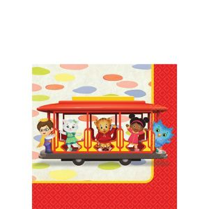 Daniel Tiger's Neighborhood Beverage Napkins 16ct