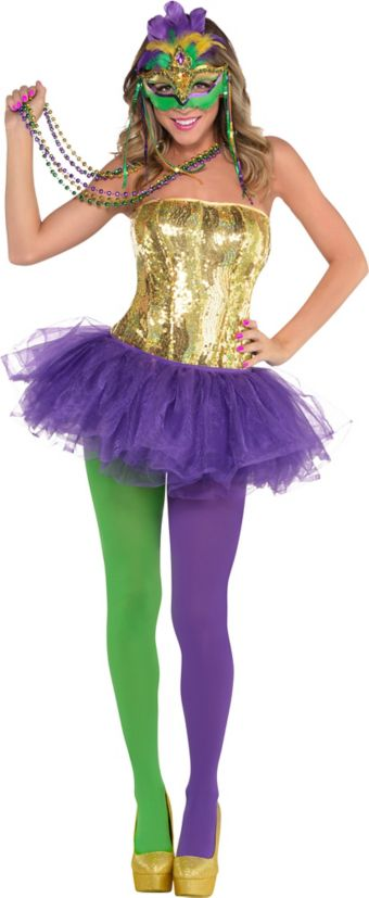 Adult Venetian Mardi Gras Costume - Party City