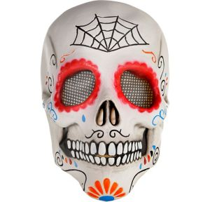 Adult Day of the Dead Sugar Skull Mask