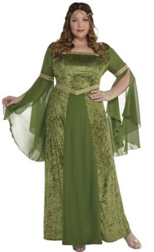 Adult Renaissance Gown Plus Size
