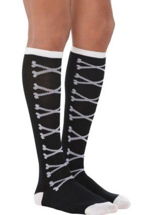 Adult Crossbones Socks