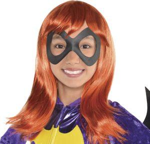 Child Sassy Batgirl Wig - DC Super Hero Girls