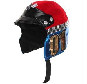 Child Plush Racer Helmet