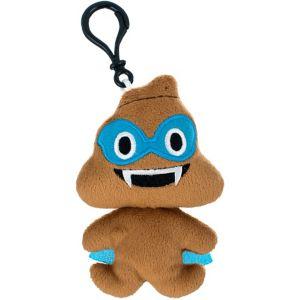 Clip-On Poop Smiley Plush