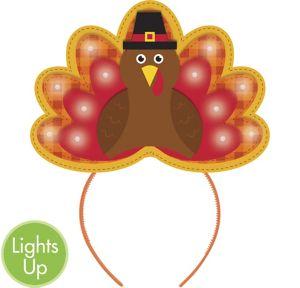 Light-Up Turkey Headband