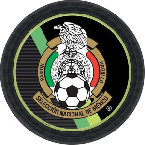 Mexico National Team Lunch Plates 8ct