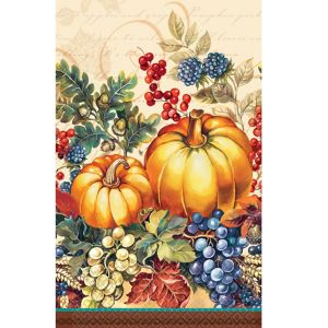 Warm Harvest Guest Towels 16ct
