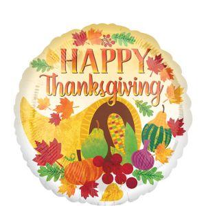 Happy Thanksgiving Harvest Balloon