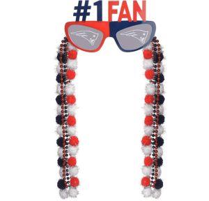 New England Patriots Sunglasses With Pom-Poms